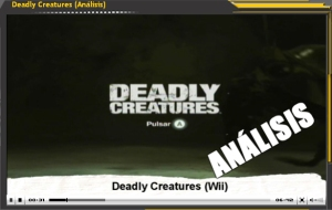 Vídeo-análisis de Deadly Creatures (Wii)