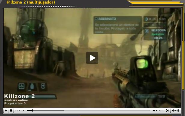 Vídeo-análisis Killzone 2 (Multijugador)