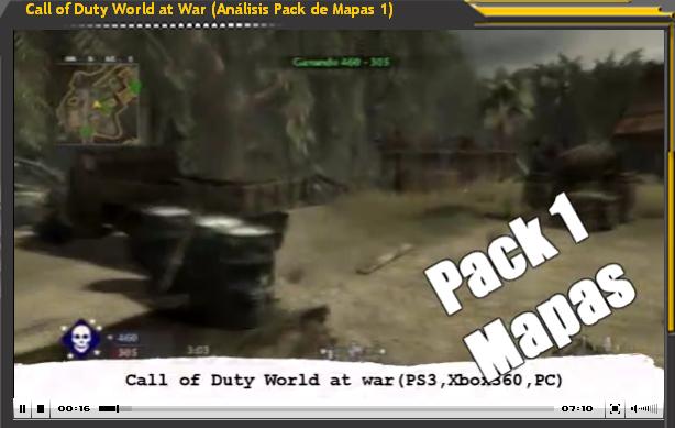 Vídeo-Análisis de Call of Duty World at War - Pack Mapas 1