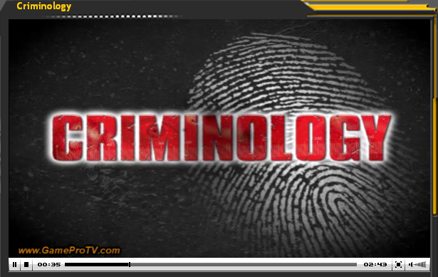 Video-avance Criminology (NDS)