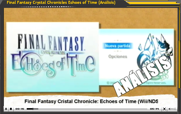 Final Fantasy Cristal Chronicles: Echoes of Time (Análisis)