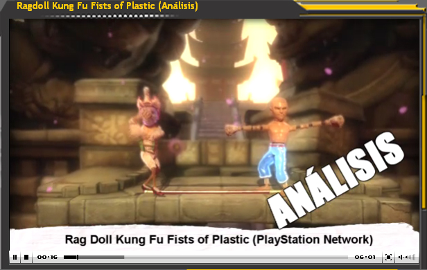 Vídeo-Análisis Ragdoll Kung Fu Fists of Plastic (PS Store)