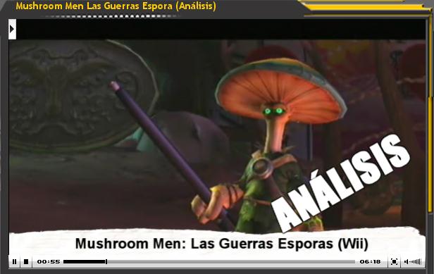 Vídeo-Análisis Mushroom Men. Las Guerras Espora