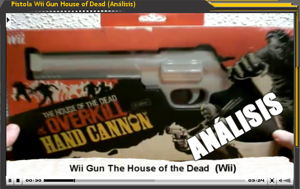 Pistola Wii Gun House of Dead