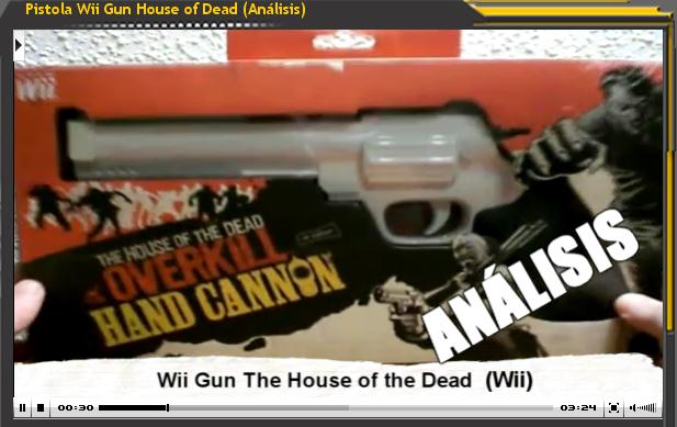 Pistola Wii Gun House of Dead