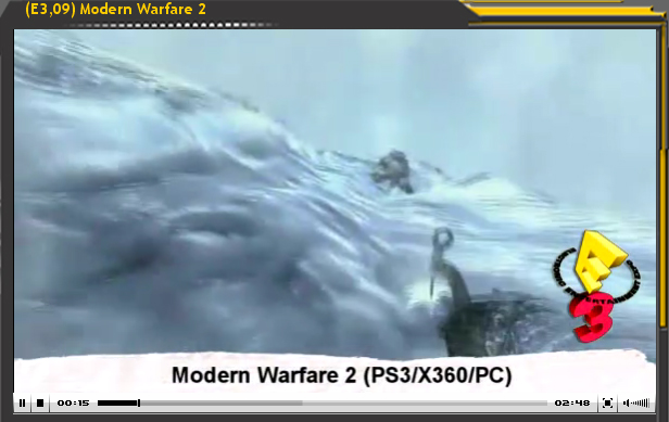 Especial E3'09: Call of Duty Modern Warfare 2
