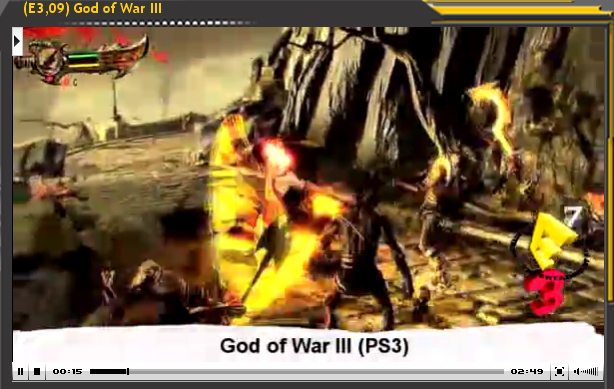 Especial E3'09: God of War III