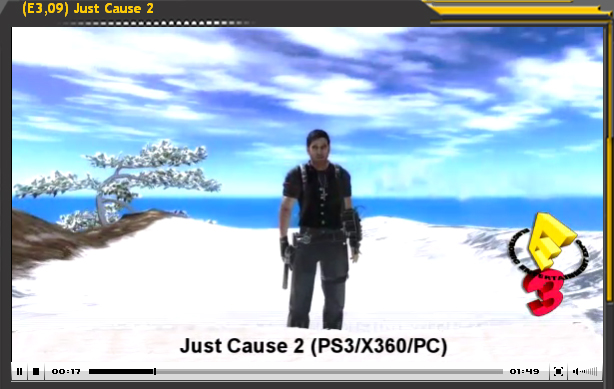 Especial E3'09: Just Cause 2