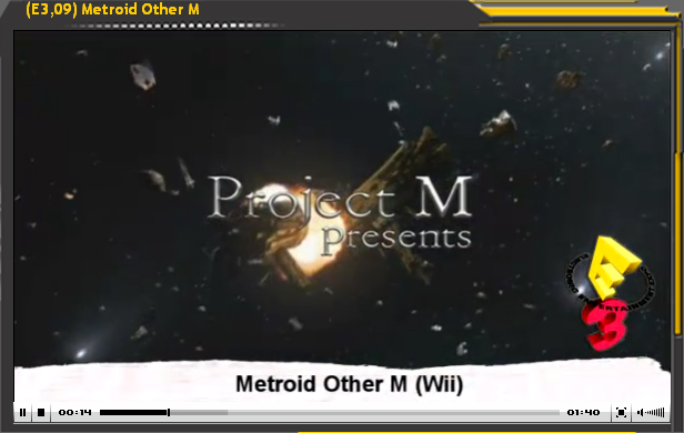 Especial E3'09: Metroid Other M
