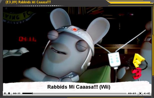 Especial E3'09: Rabbids. Mi Casaa!!