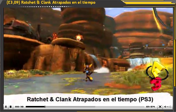 Especial E3: Ratchet & Clank Atrapados en el tiempo