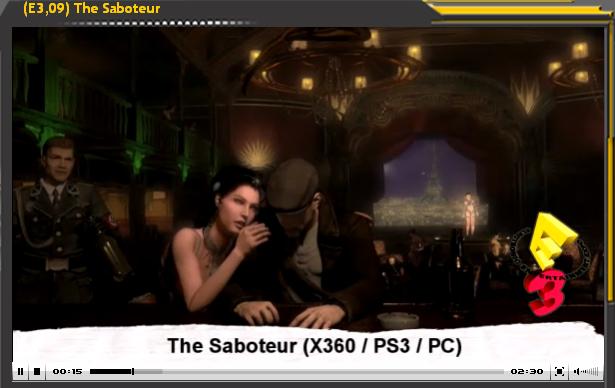 Presentación E3 2009: The Saboteur