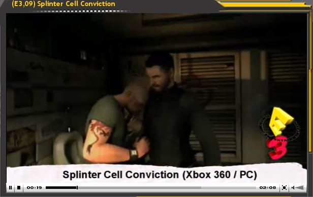 Especial E3'09: Splinter Cell Conviction