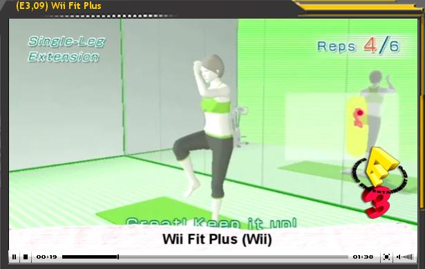 Especial E3'09: WiiFit Plus
