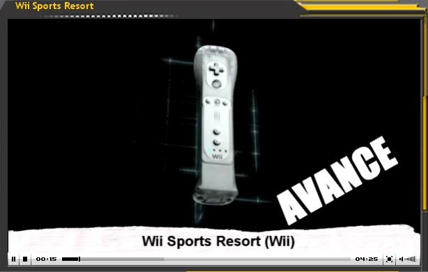 Avance Wii Sport Resort