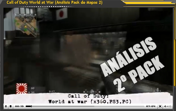 Análisis Call of Duty World at War Map Pack 2