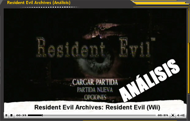 Vídeo Análisis Resident Evil Wii