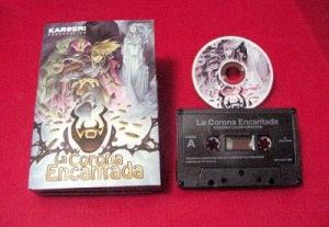 Packaging del videojuego retro La Corona Encantada