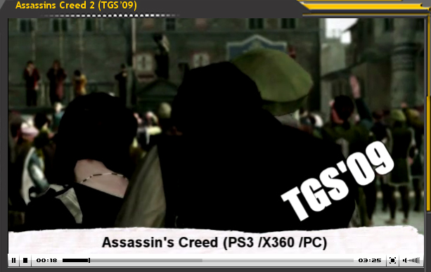 Vídeo-Avance: Assasins Creed II (TGS'09)