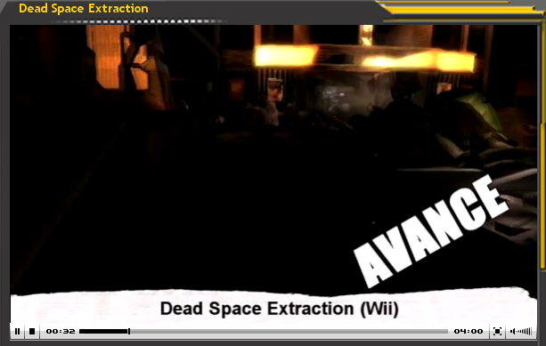Vídeo-Avance: Dead Space Extraction