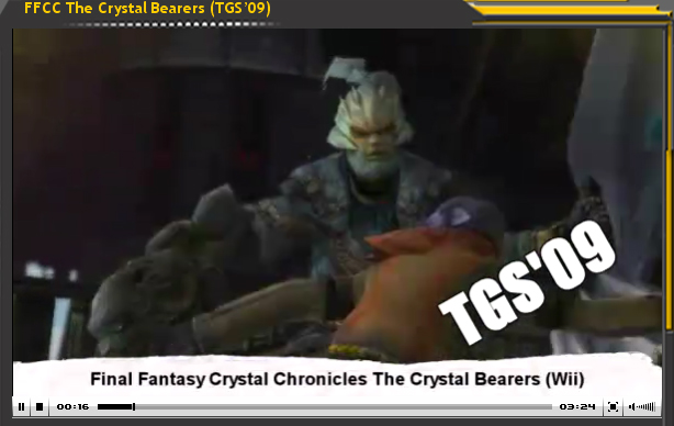 Vídeo-Avance: Final Fantasy Crystal Chronicles The Crystal Bearers (TGS'09)