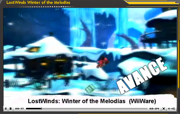 Vídeo-Avance de LostWinds: Winter of Melodias