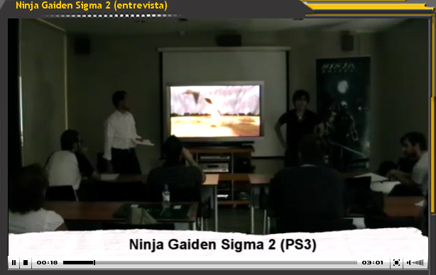 Ninja Gaiden Sigma 2 (Entrevista a Yosuke Hayashi)