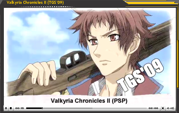 Vídeo-Avance: Valkyria Chronicles II (TGS'09)