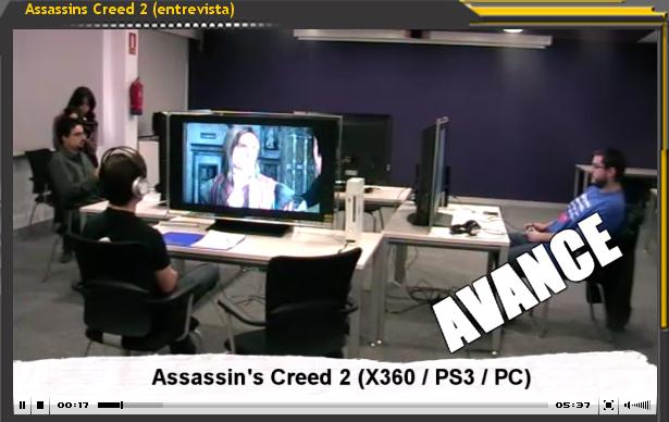 Vídeo-Entrevista: Assasins Creed II