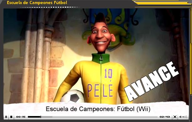 Vídeo-Avance: Escuela de Campeones. Fútbol