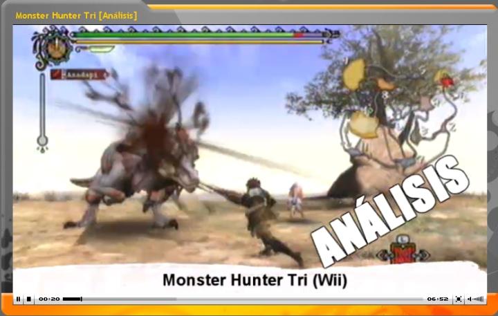 Vídeo-Análisis Monster Hunter Tri (GameProTV.com)