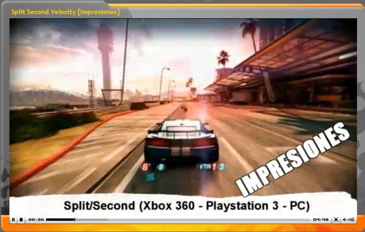 Vídeo-Impresiones: Split-Second (GameProTV.com)