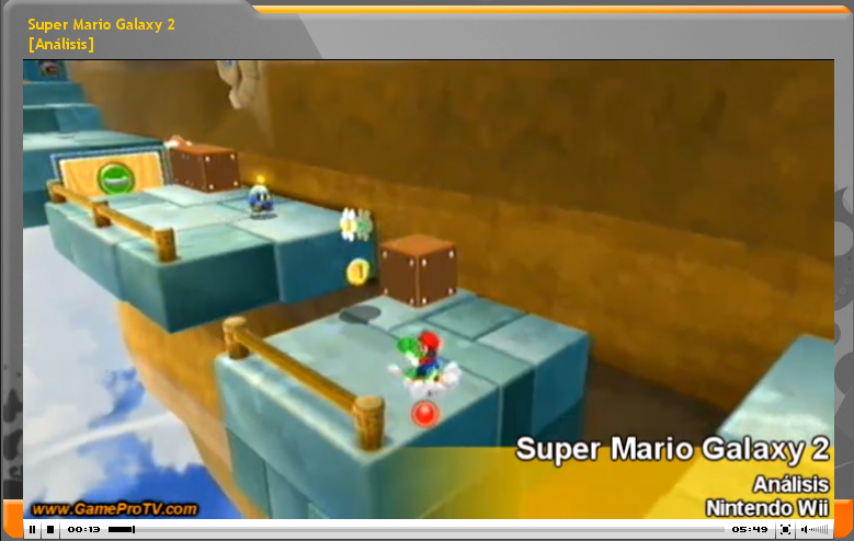 Vídeo análisis Super Mario Galaxy 2 (www.GameProTV.com)
