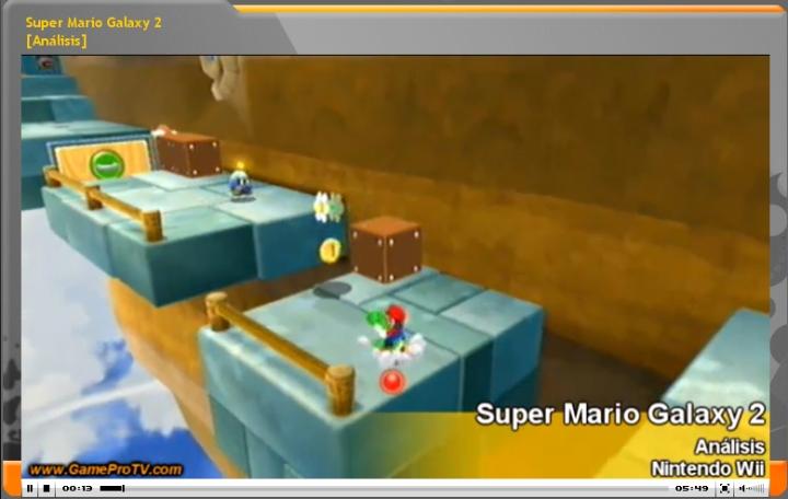 Vídeo análisis Super Mario Galaxy 2 (www.GameProTV.com)