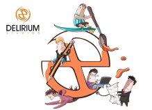 Caricatura del equipo de Delirium Studios