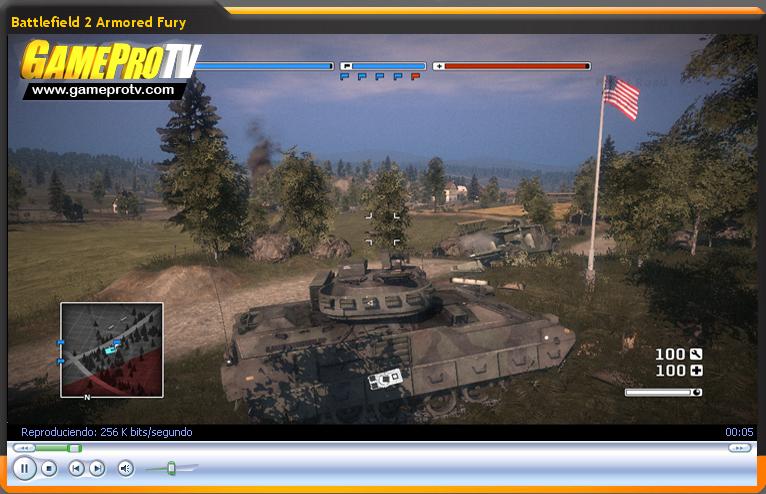 Video-Avance de Battlefield 2: Armored Fury (GameProTV.com)
