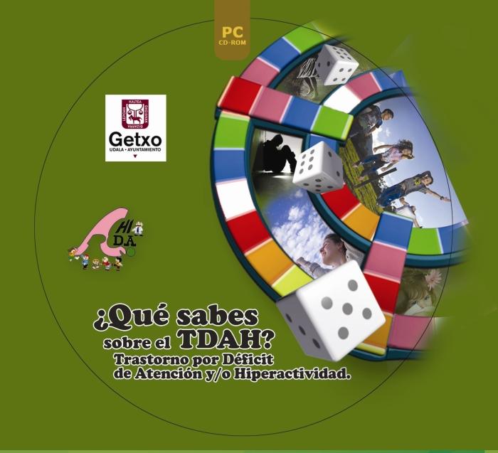 Caratula del videojuego TDAH elaborado por AHIDA, Ametsa Soft y el Ayuntamiento de Getxo