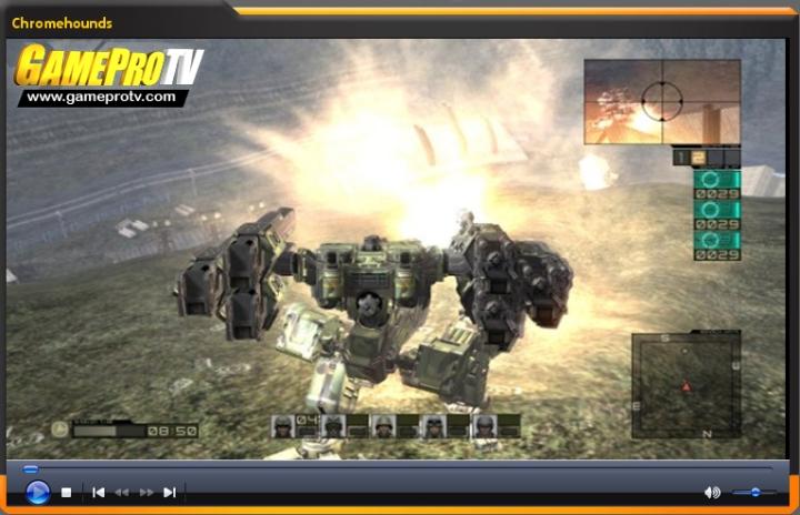 Vídeo- Avance Chromehounds (www.gameprotv.com)