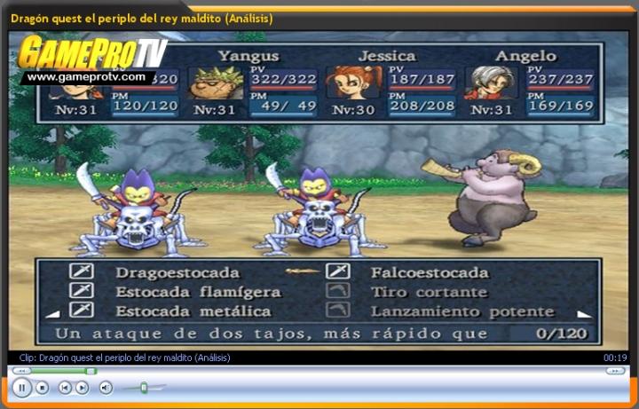 Vídeo-Análisis de Dragón quest el periplo del rey maldito (GameProTV)