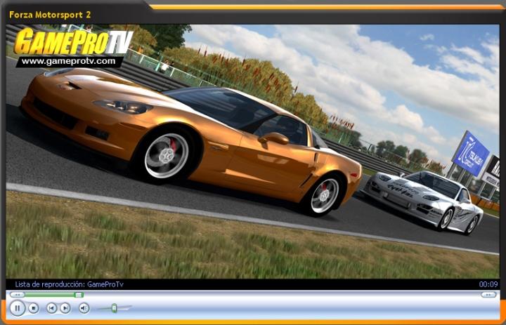 Vídeo-avance de Forza Motorsport 2 (GameProTV.com)