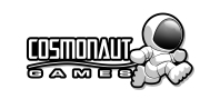Cosmonaut Games Logo