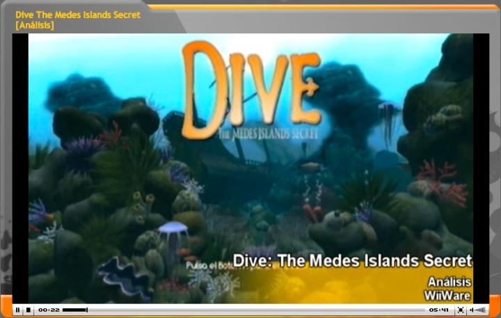 Vídeo-Análisis Dive The Medes Island Secret