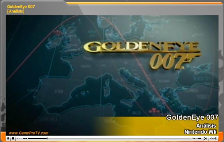 Vídeo-Análisis de GoldenEye 007 para Wii (GameProTV.com)