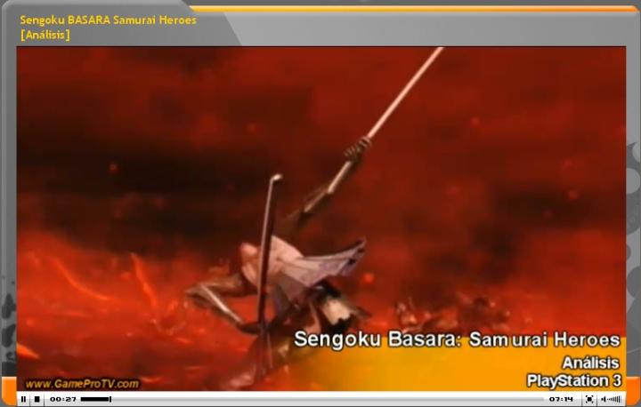 Video-analisis de Sengoku Basara: Samurai Heroes (www.gameprotv.com)