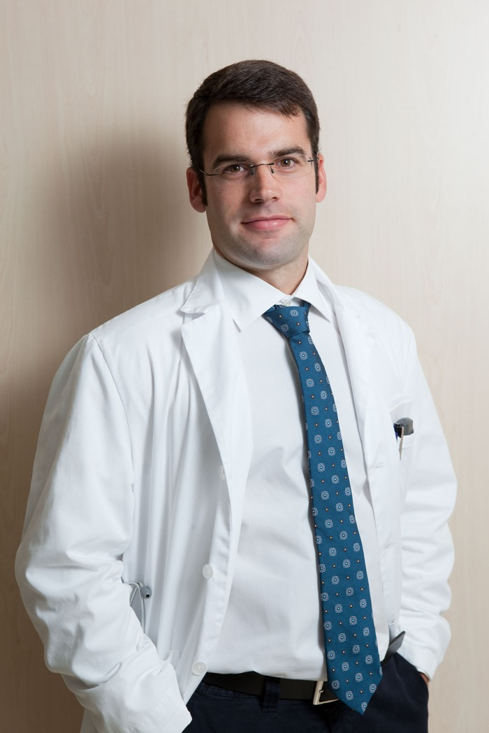 Eloi Nin, médico rehabilitador de la Unidad de Daño Cerebral del Hospital Aita Menni.