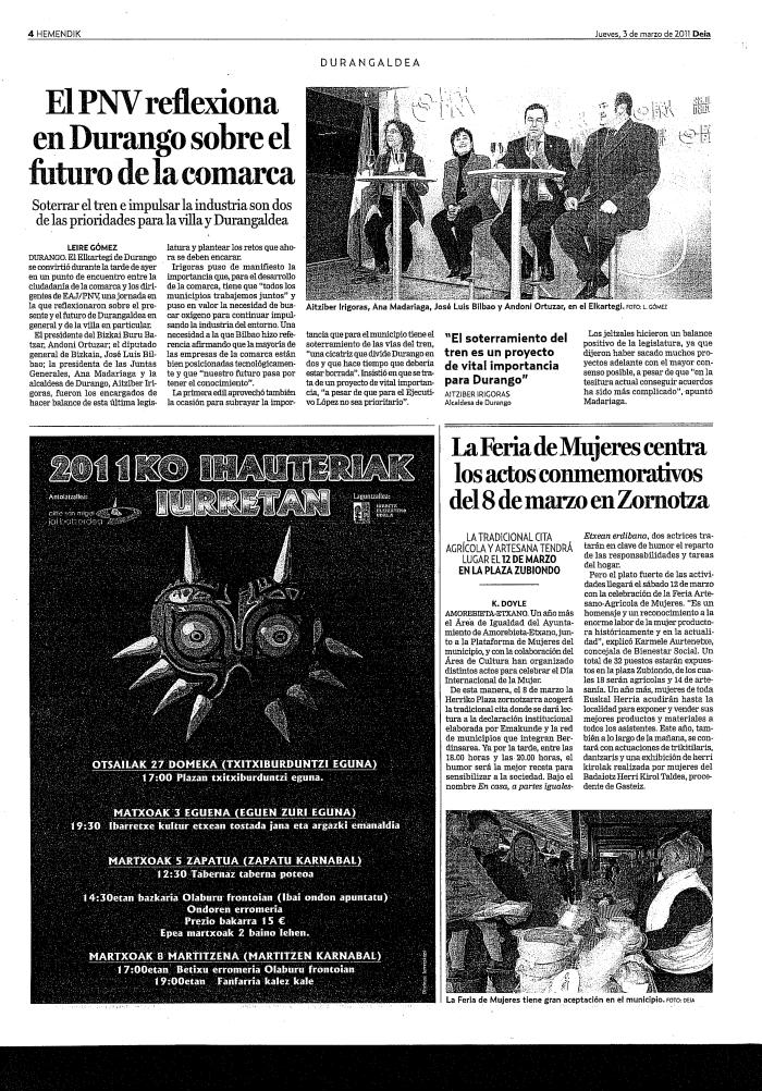 iurreta bizkaia ihauteriak 2011 bideojokua iñauteriak Euskadi