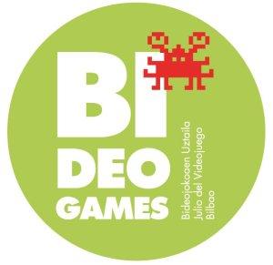 Logo certamen de videojuegos Bilbao