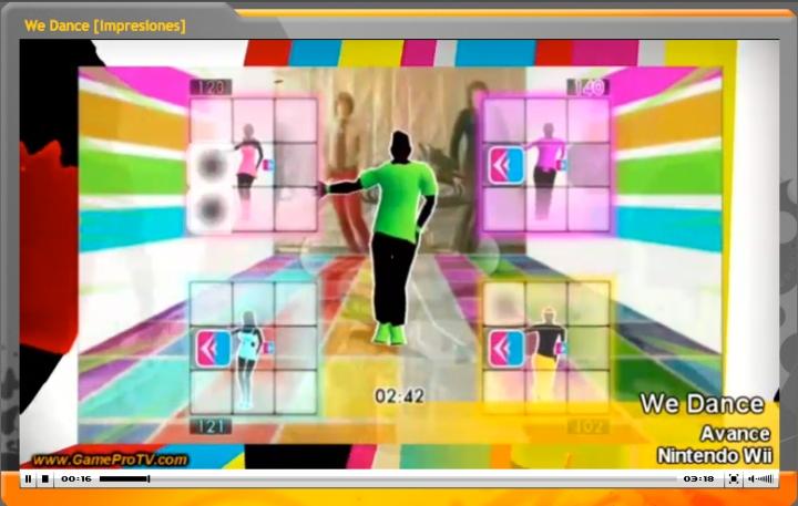 review del videojuego de baile exclusivo para Nintendo Wii