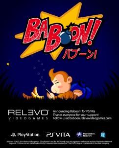 Baboon! para PS Vita