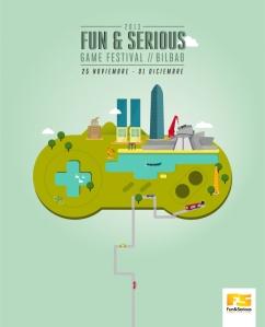 Cartel del Fun and Serous Game Festival 2013